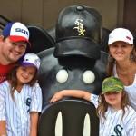 Unit 4 School Board president Chris Kloeppel and family