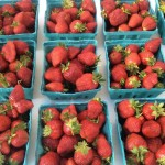 Strawberries Urbana Market