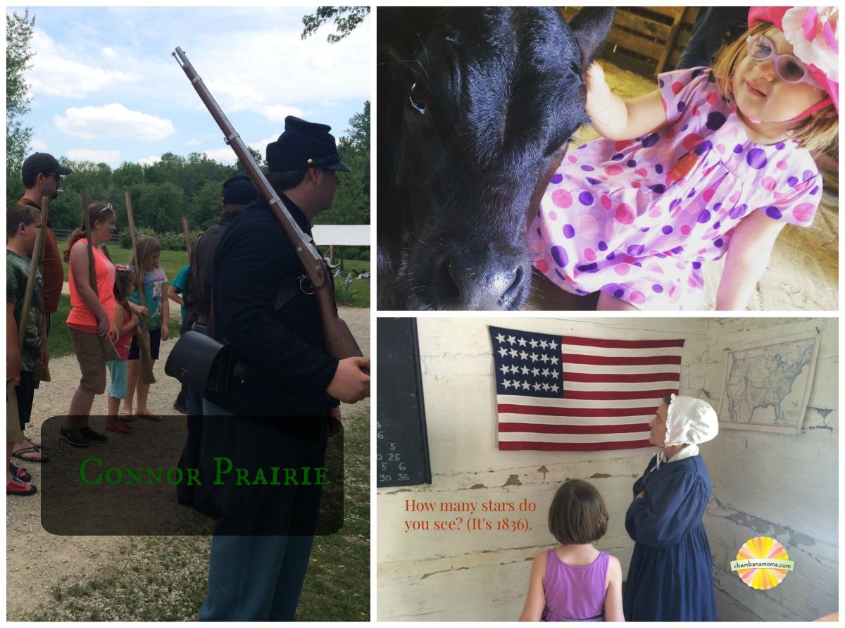 conner prairie collage