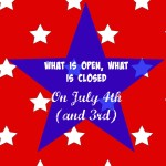 Fourth of July in Champaign-Urbana: What is Open, What is Closed