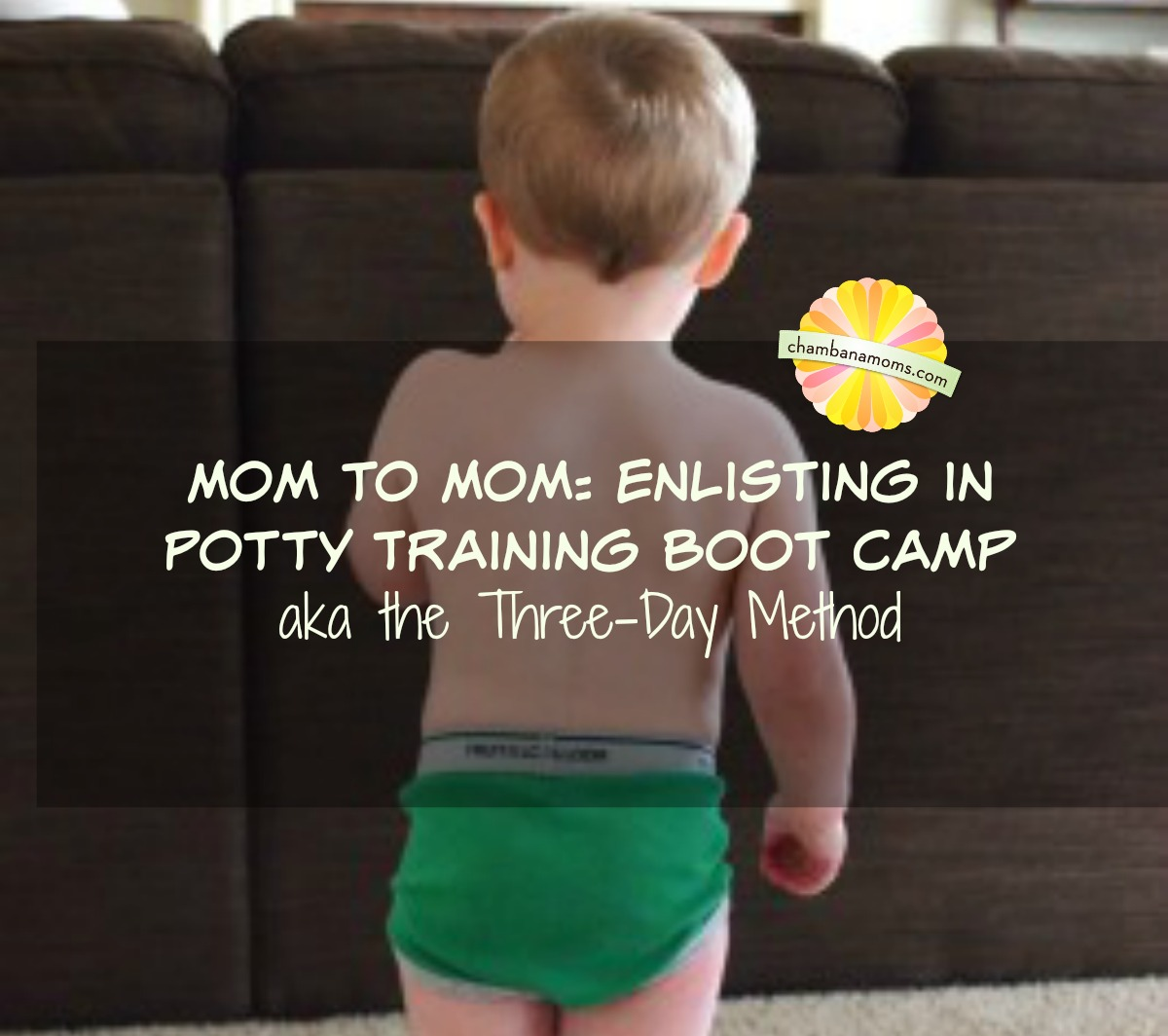 Potty training boot camp for toddlers 2014