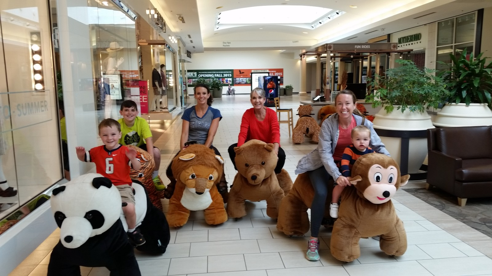 Good Rides For Kids In Malls In Minneapolis