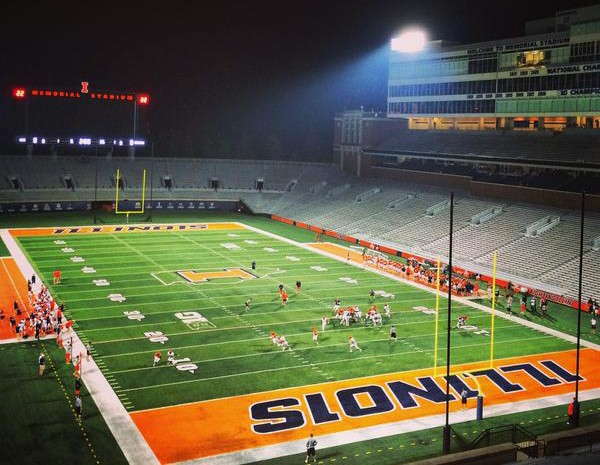 Five Reasons to Watch Illinois Football Practice