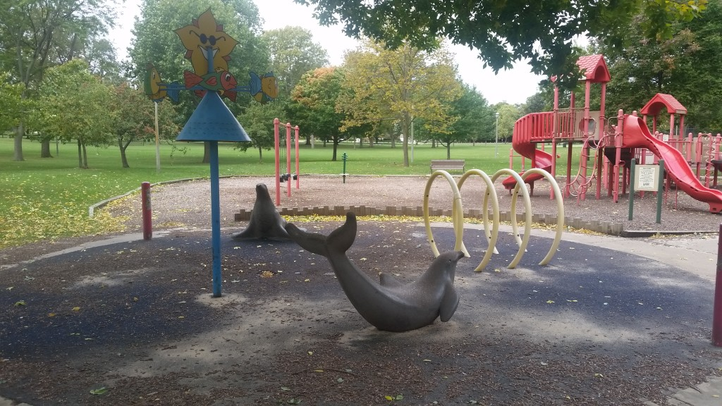 Champaign family favorite ,Hessel Park ,is set to remodel this year. Photo Credit: Emily Harrington.