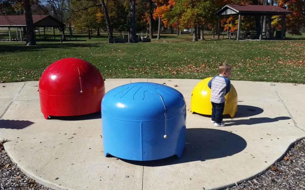 Looking for a new park to add to your play rotation? See why Chambanamom Emily loves Ambucs Park in Urbana. Photo Credit: Emily Harrington