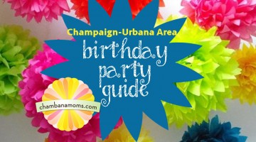 Champaign-Urbana Area Birthday Party Guide Sponsored by the Urbana Park District
