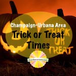 Champaign-Urbana Metro Area Trick or Treat Hours Sponsored by Einstein Bros. Bagels