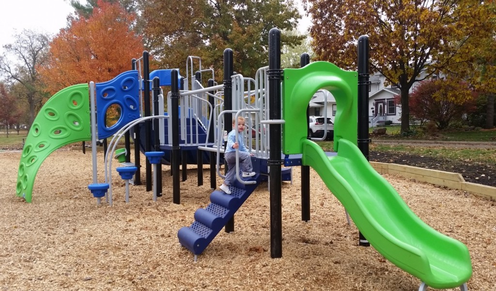 The new Glen Park in Champaign has even more changes in store. Photo Credit: Emily Harrington.