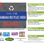 Keep Champaign Beautiful Handing Out Free Reusable Shopping Bags Nov. 13