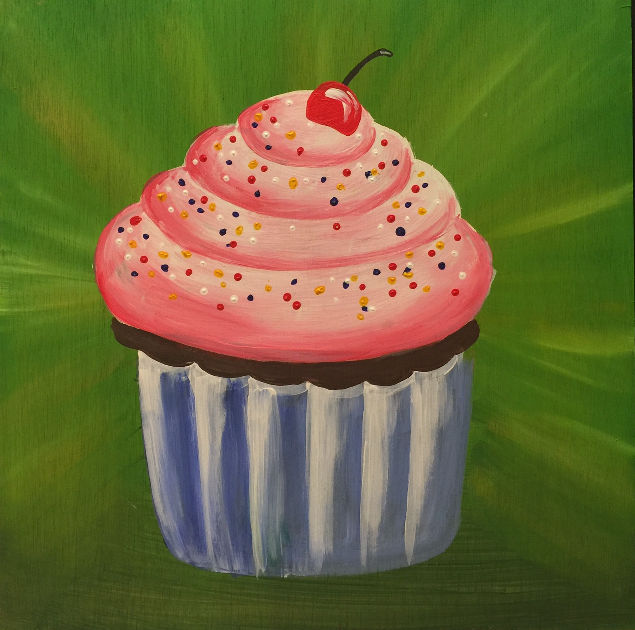 Cake Artist Champaign Illinois : Family Friendly Painting Parties with Lola s Brush (and a ...