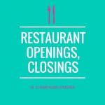 Champaign-Urbana Restaurant Openings, Closings