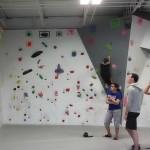 Mom Review: Climbing High at Urbana Boulders