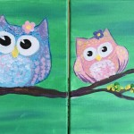 Family Friendly Painting Parties with Lola's Brush (and a giveaway)