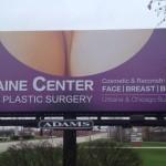 boobs billboard