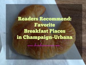 favorite breakfast places in Champaign-Urbana on www.chambanamoms.com