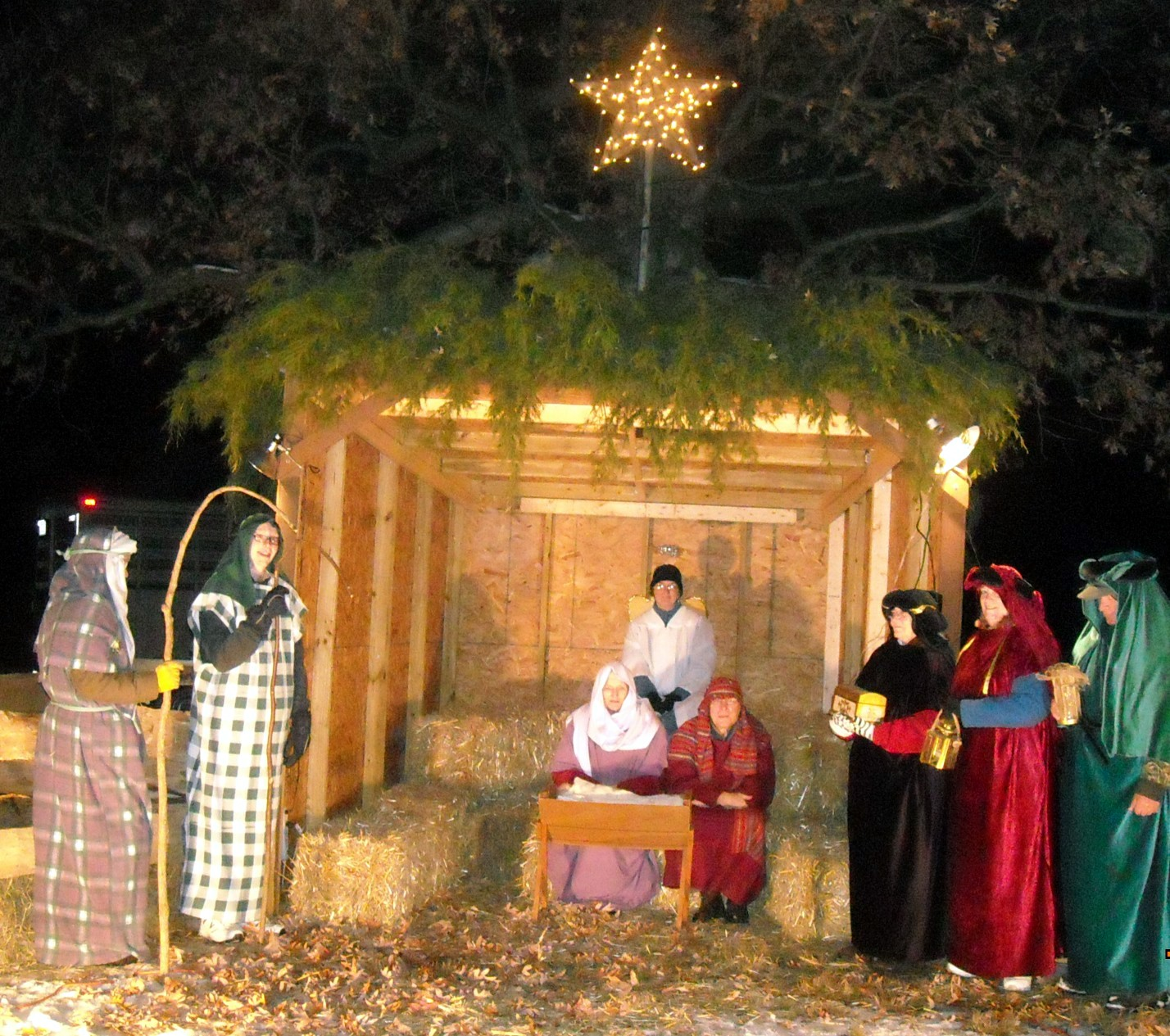 urbana church to display live nativity