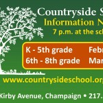 Champaign-Urbana Weekend Planner January 29-31 Sponsored by Countryside School