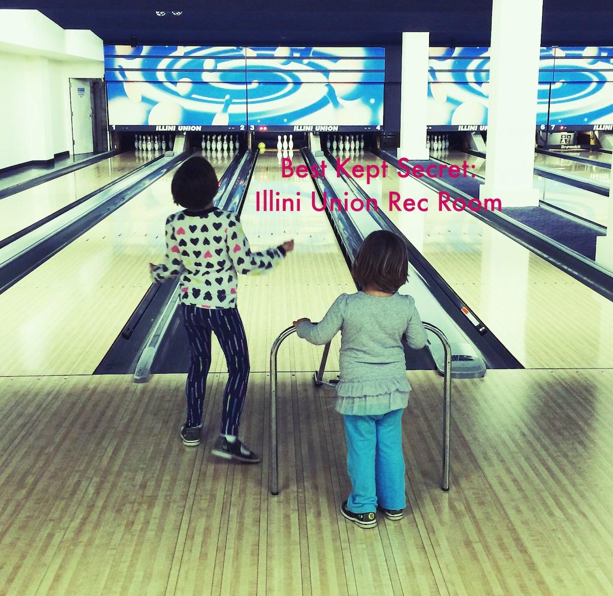 Illini Union Rec Room Champaign Urbana bowling