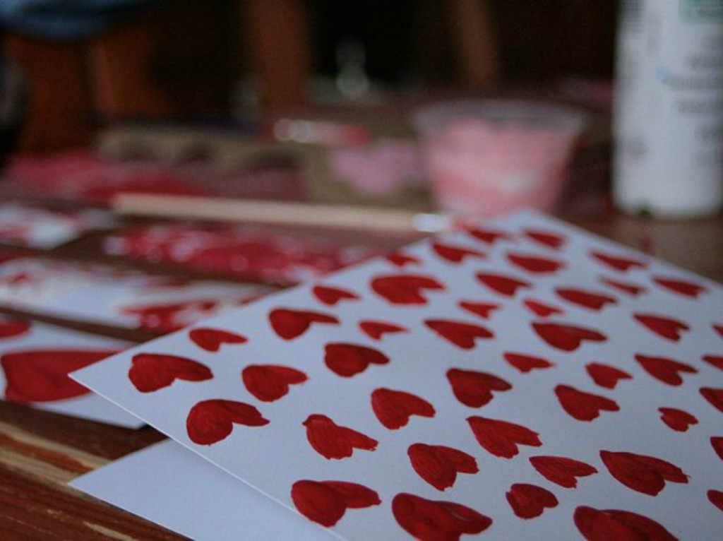 When Valentine's Day becomes another holiday for mom's to up the PInterest ante. Photo Credit: Crystal via Flickr Creative Commons