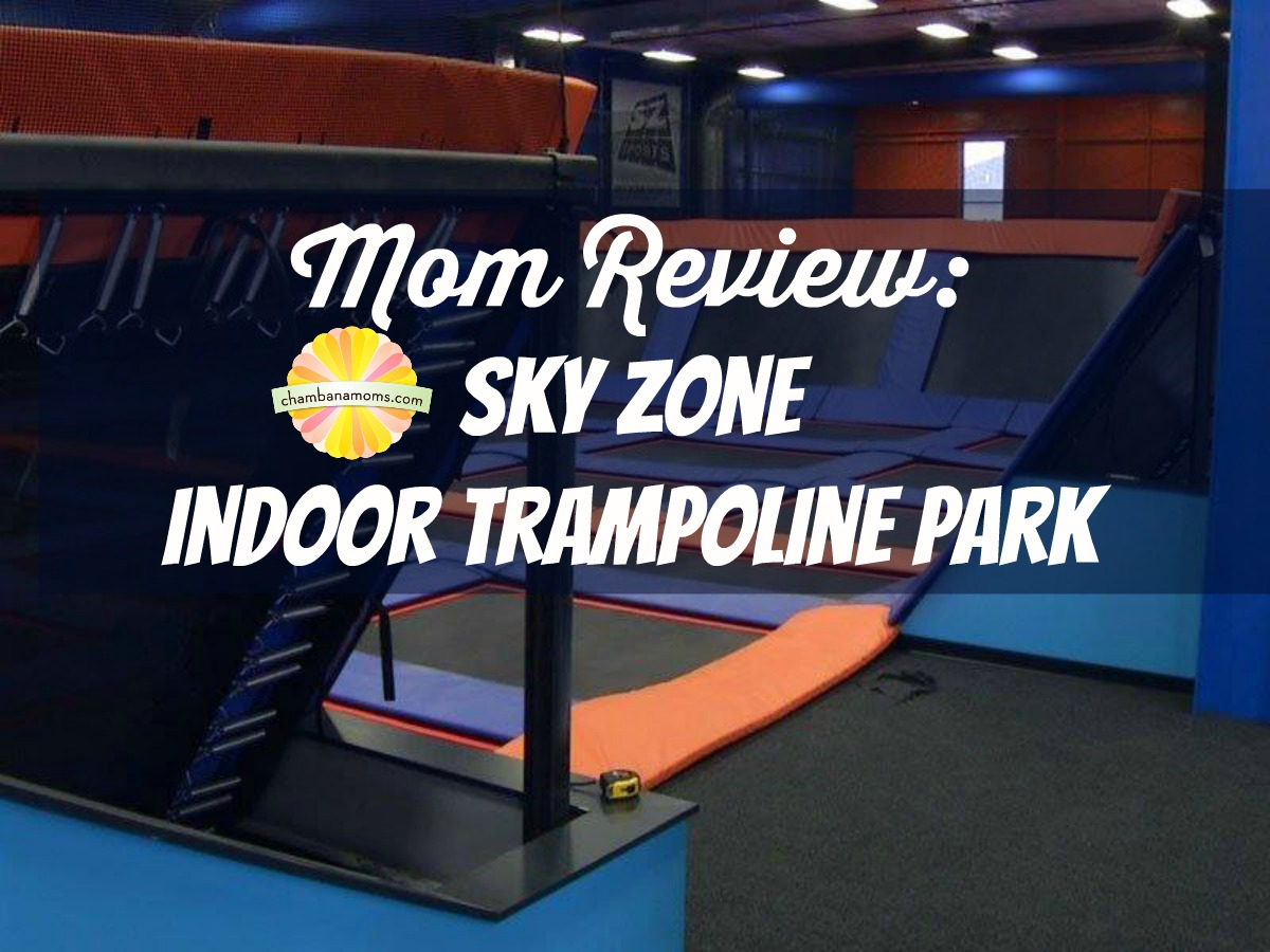 sky zone trampoline park review on chambananamoms.com