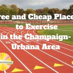 Free and Cheap Places to Exercise in the Champaign-Urbana Area