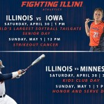 Chambanamoms.com Weekend Planner Sponsored by University of Illinois Athletics. Family fun in Champaign-Urbana for April 29-May 1