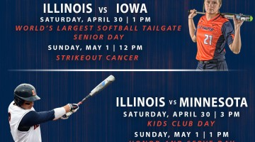 Champaign-Urbana Area Weekend Planner for April 29-May 1 Sponsored by University of Illinois Athletics