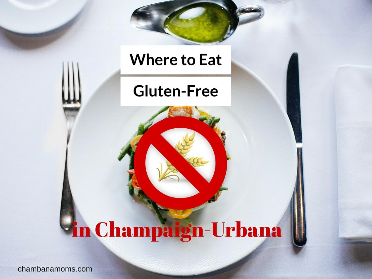 Where to eat Gluten-Free in Champaign-Urbana Restaurants