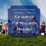 Kids Research Study On Fitness and Memory