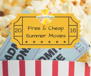 Free & Cheap Summer Movies in Champaign-Urbana