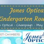 Visit the Kindergarten Roundup at Jones Optical