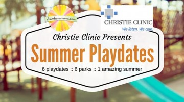 Christie Clinic Presents: Summer Playdates