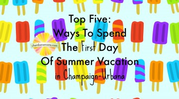 Top Five: Ways To Spend The First Days Of Summer Vacation