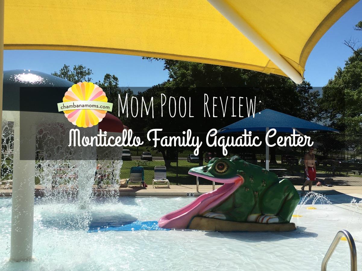 Our review of the Monticello Aquatic Center near Champaign-Urbana on Chambanamoms.com