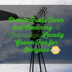 Get to know Prairie Fruits Farm and Creamery in Champaign, IL on chambanamoms.com