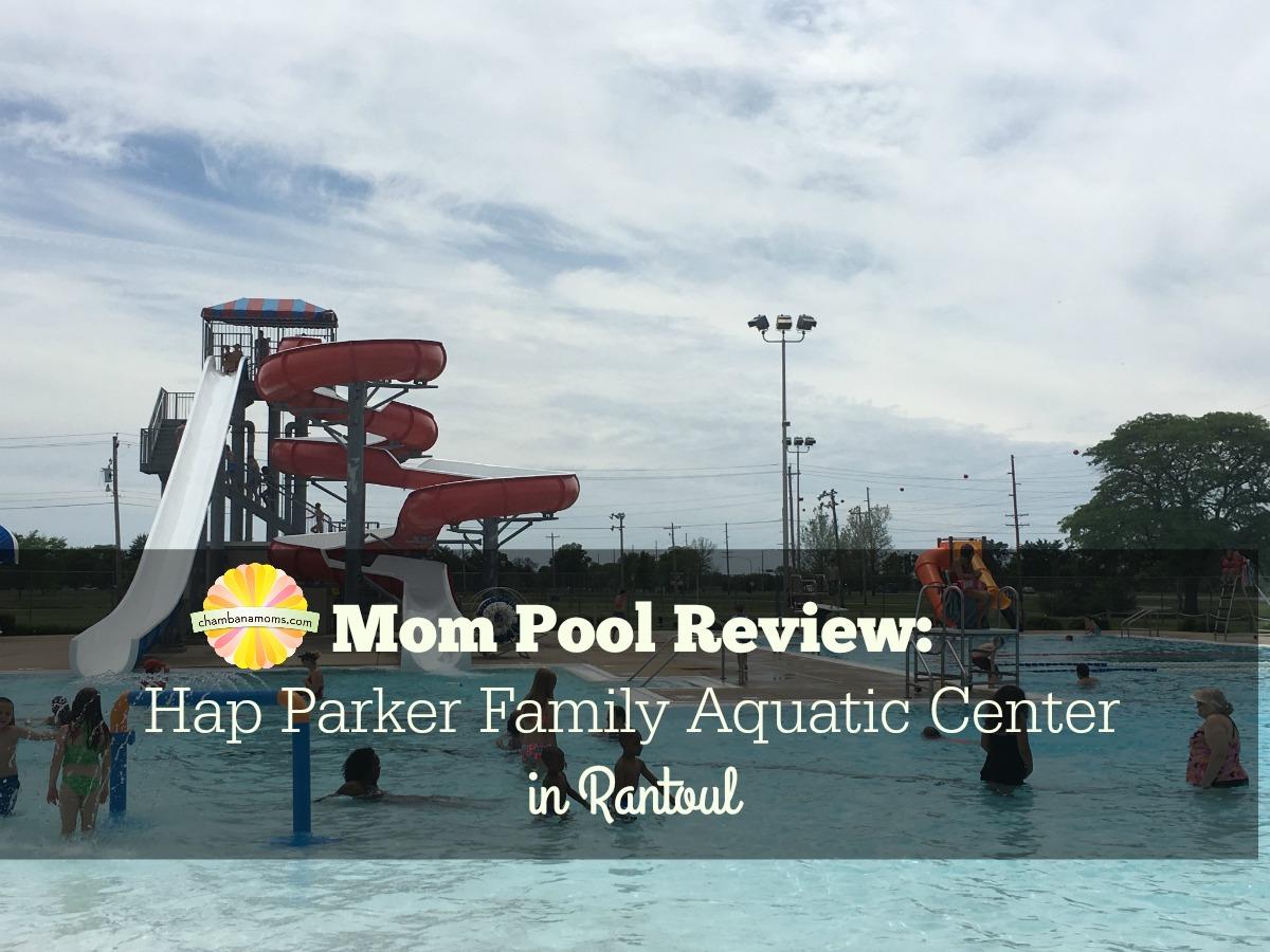 A smaller family swimming pool option near Champaign-Urbana. Mom Review on Chambanamoms.com