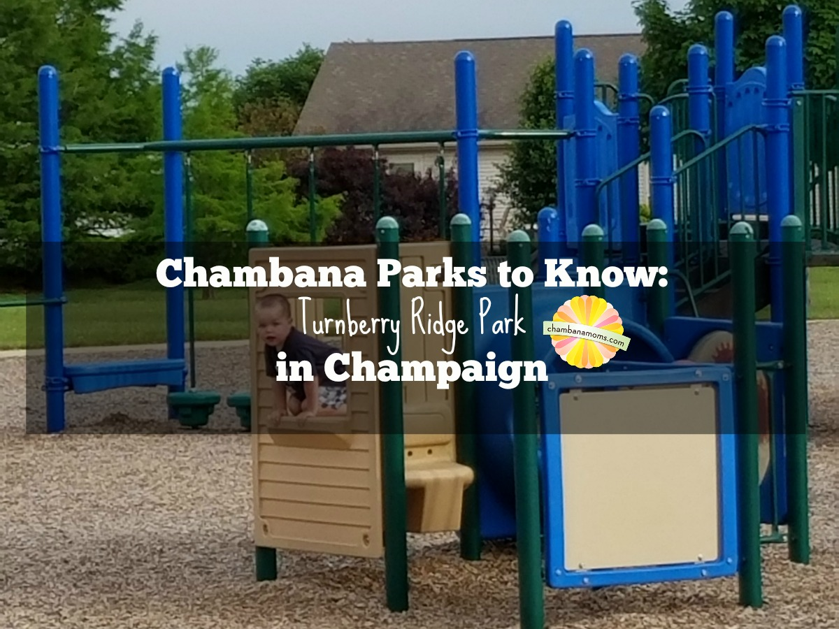 Get to Know Turnberry Ridge Park in Champaign on chambanamoms.com