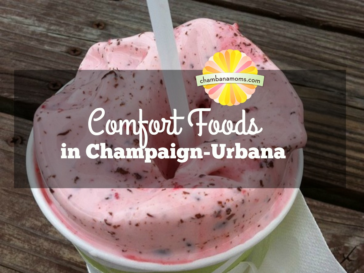 Our picks for the comfort food you crave when in Champaign-Urbana. On Chambanamoms.com