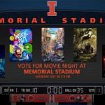 Decision 2016: Memorial Stadium Movie Night Vote