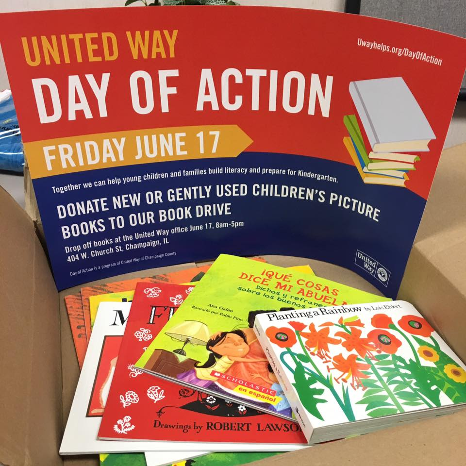 Kindergarten Readiness Calendar United Way : Book drive aims to get champaign county kids kindergarten