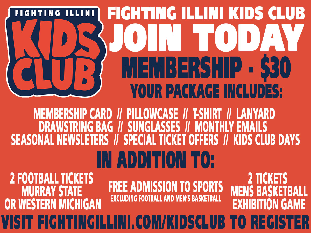 Learn more about the University of Illinois Athletics Kids Club on Chambanamoms.com