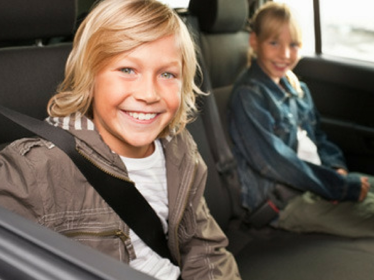 Kids in Front Seat