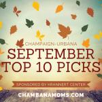 September Top 10 Picks for Family Fun Sponsored by Krannert Center for Performing Arts