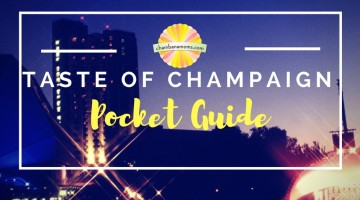 Taste of Champaign-Urbana Pocket Guide