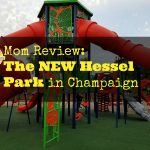 New Hessel Park Playground review on Chambanamoms.com