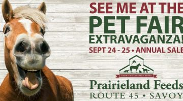 Champaign-Urbana Weekend Planner September 23-25 Sponsored by Prairieland Feeds