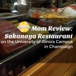 Mom Review: Sakanaya Restaurant on University of Illinois Campus in Champaign