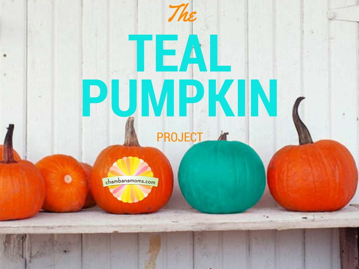 teal pumpkin project makes halloween less scary