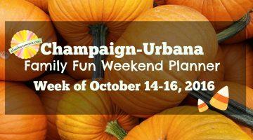 Champaign-Urbana Weekend Planner: Week of October 14-16
