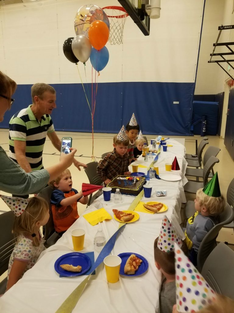 A Review of a FUN gymnastic birthday party at Stephens Family YMCA in Champaign on Chambanamoms.com